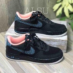 Nike Air Force 1 Pinnacle Black lacuna Pulse k/W